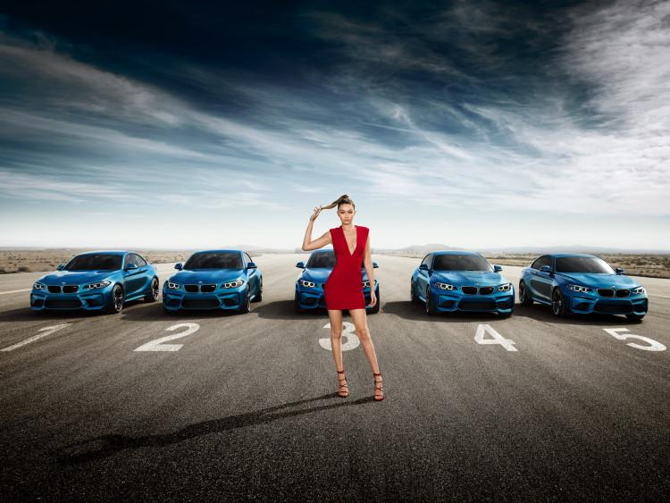Gigi Hadid BMW M2 5 750x563