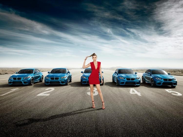 Gigi Hadid BMW M2 750x562