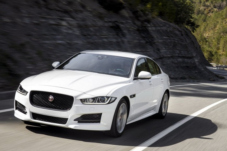 Jaguar XE R Sport cars sedan 2015 1440x9008 750x500