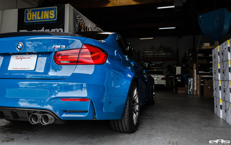 Laguna Seca Blue BMW M3 Extravaganza 1 750x469