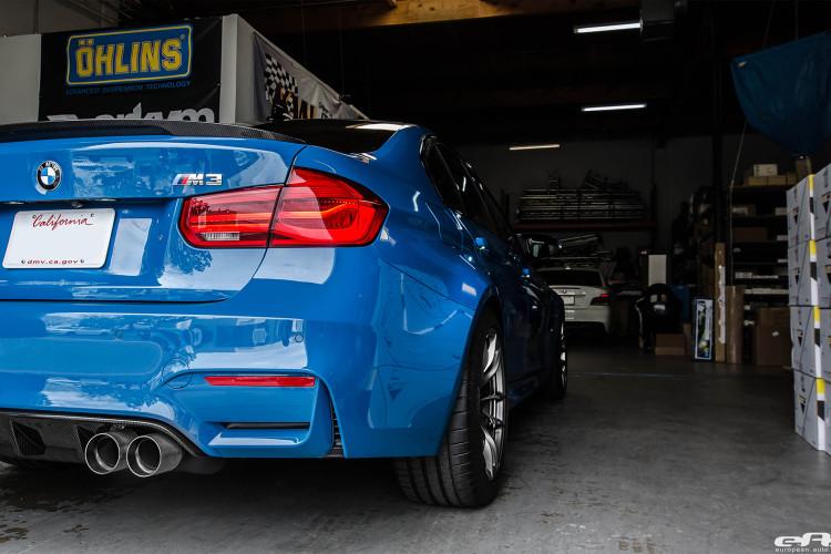 Laguna Seca Blue BMW M3 Extravaganza 1 750x500