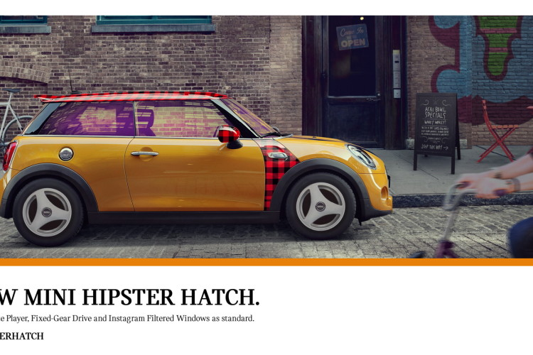 MINI Hipster Hatch 3 750x500