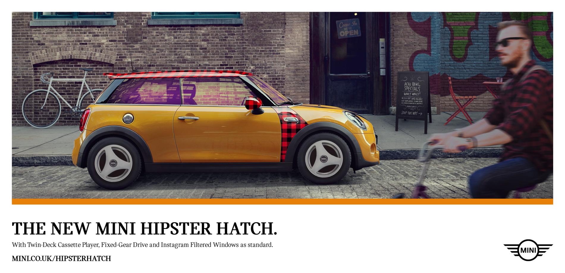 MINI Hipster Hatch 3