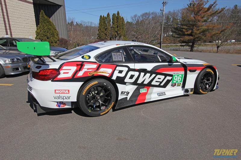 Turner BMW M6 GT3 aFe Power 1