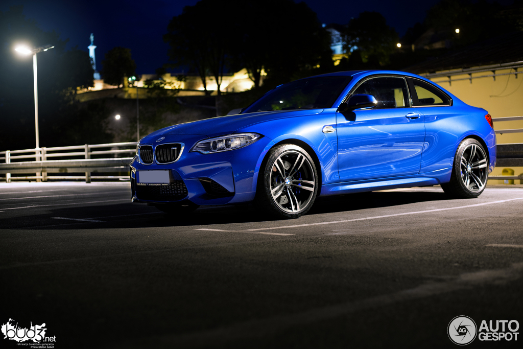 bmw m2 coupe f87 photoshoot