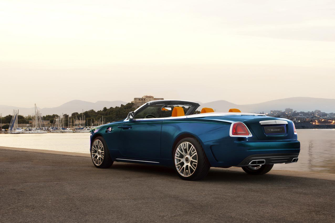 Mansory Rolls Royce Dawn Unveiled With 740 Hp