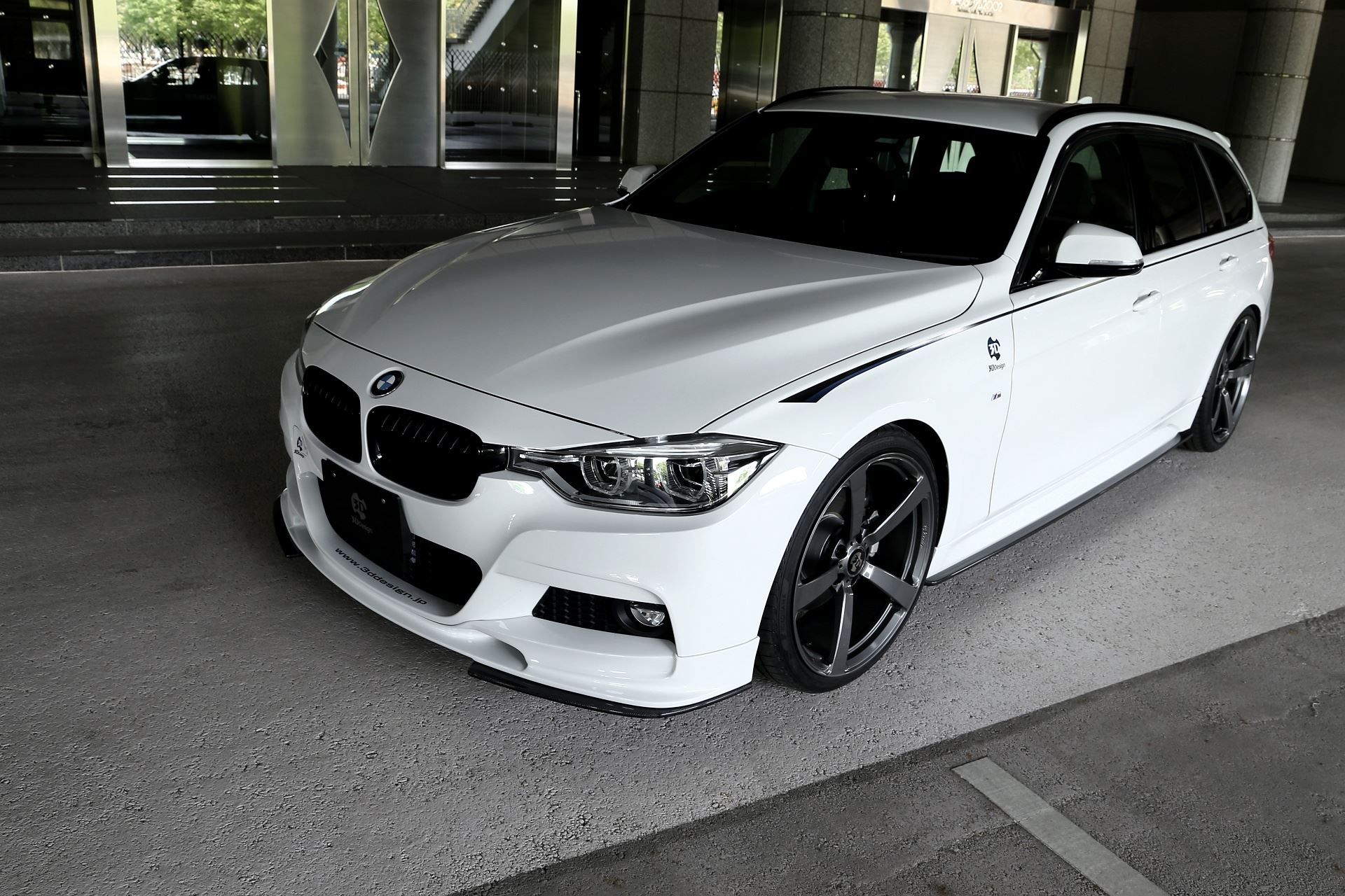 3d Design Side Skirts For F31 Bmw 3 Series Touring