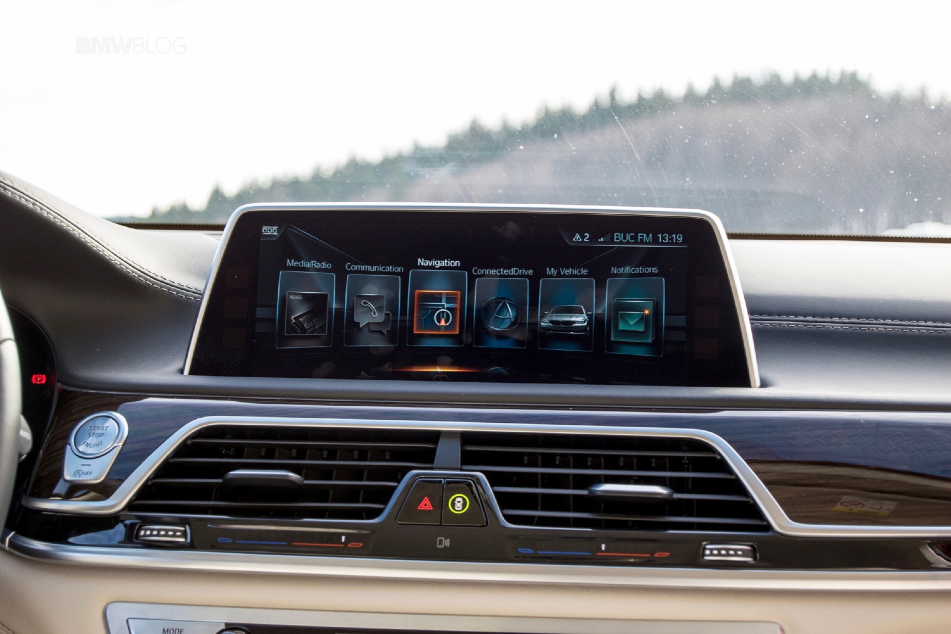 2016 BMW 730d xDrive test drive review 118