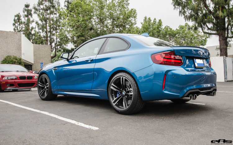 2016 Long Beach Blue Metallic Bmw M2 Modded By Eas