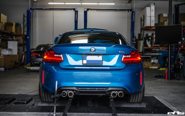 2016 Long Beach Blue Metallic BMW M2