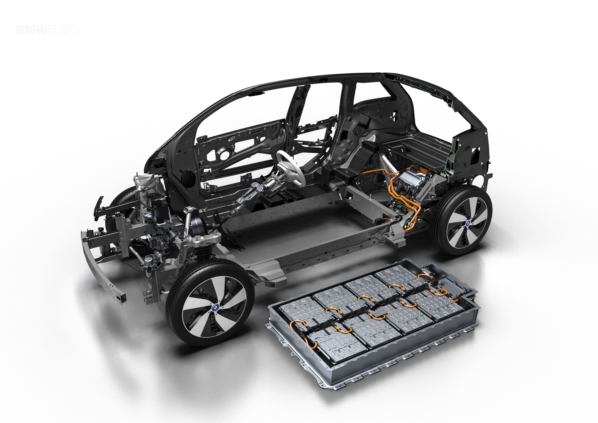 2017 BMW i3 new battery 1
