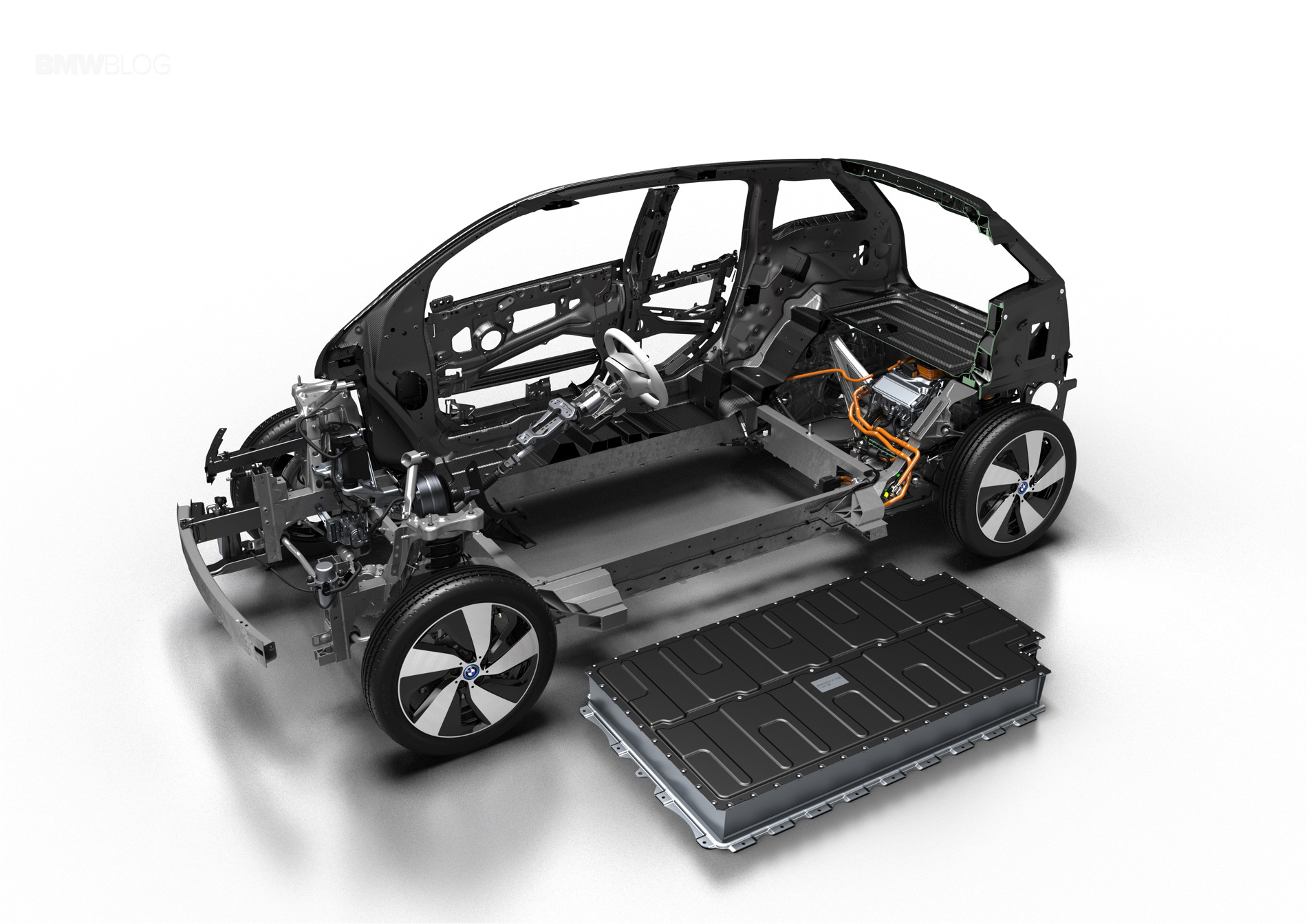 2017 BMW i3 new battery 3