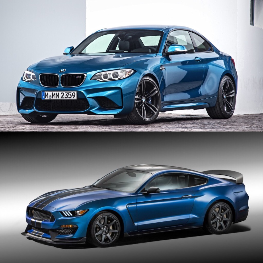 2017 Bmw 6 Series Gt Vs Bmw 5 Series Gt Profile: VIDEO: BMW M2 Vs Shelby GT350 On Track & Drag Race