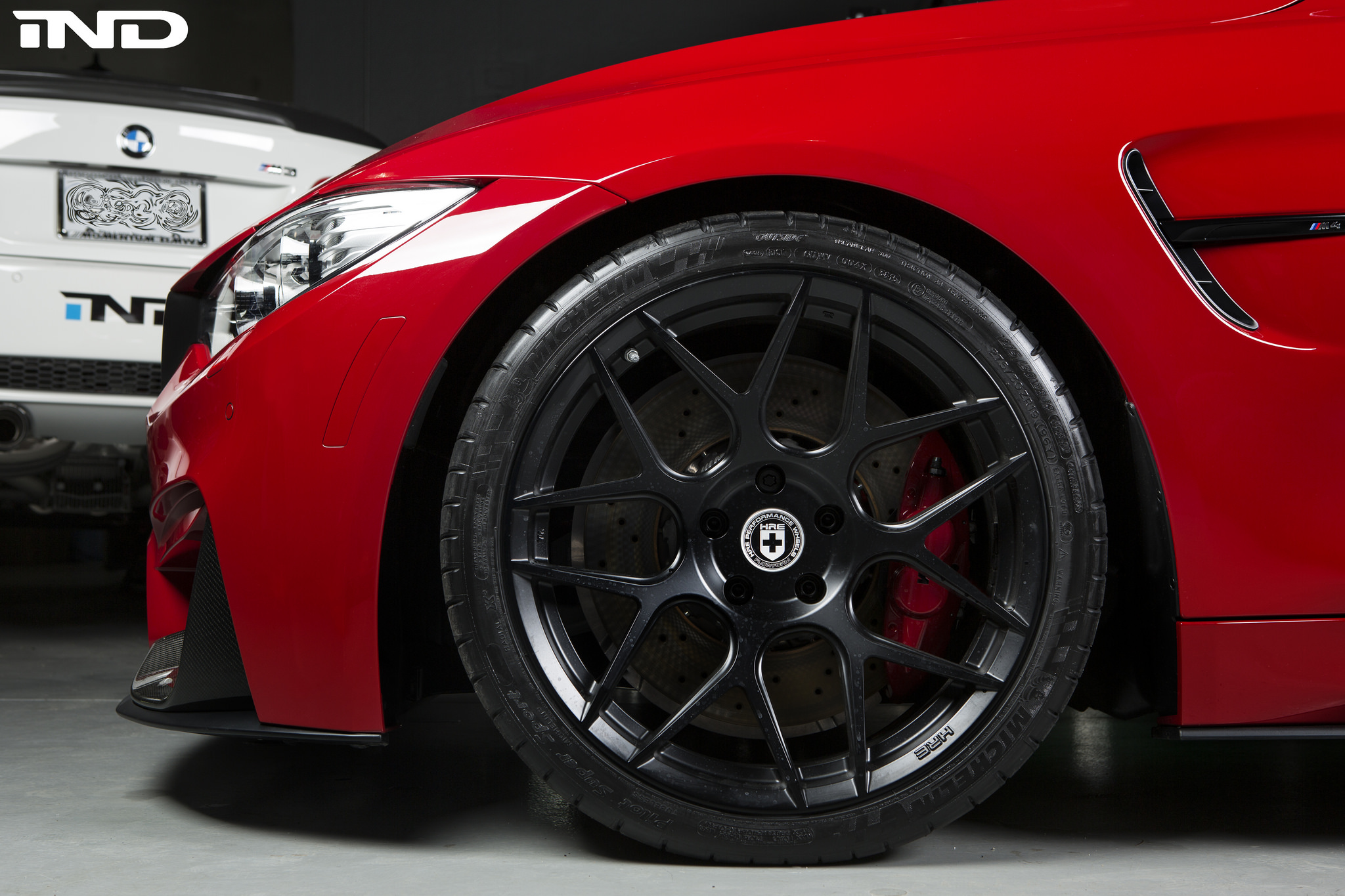 A Clean Imola Red BMW F82 M4 Project 4