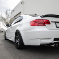 Alpine White BMW E92 M3 Upgraded With New Wheels
