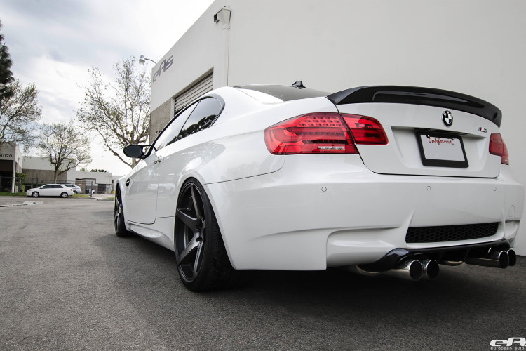 Alpine White BMW E92 M3 Upgraded With New Wheels 7 750x500