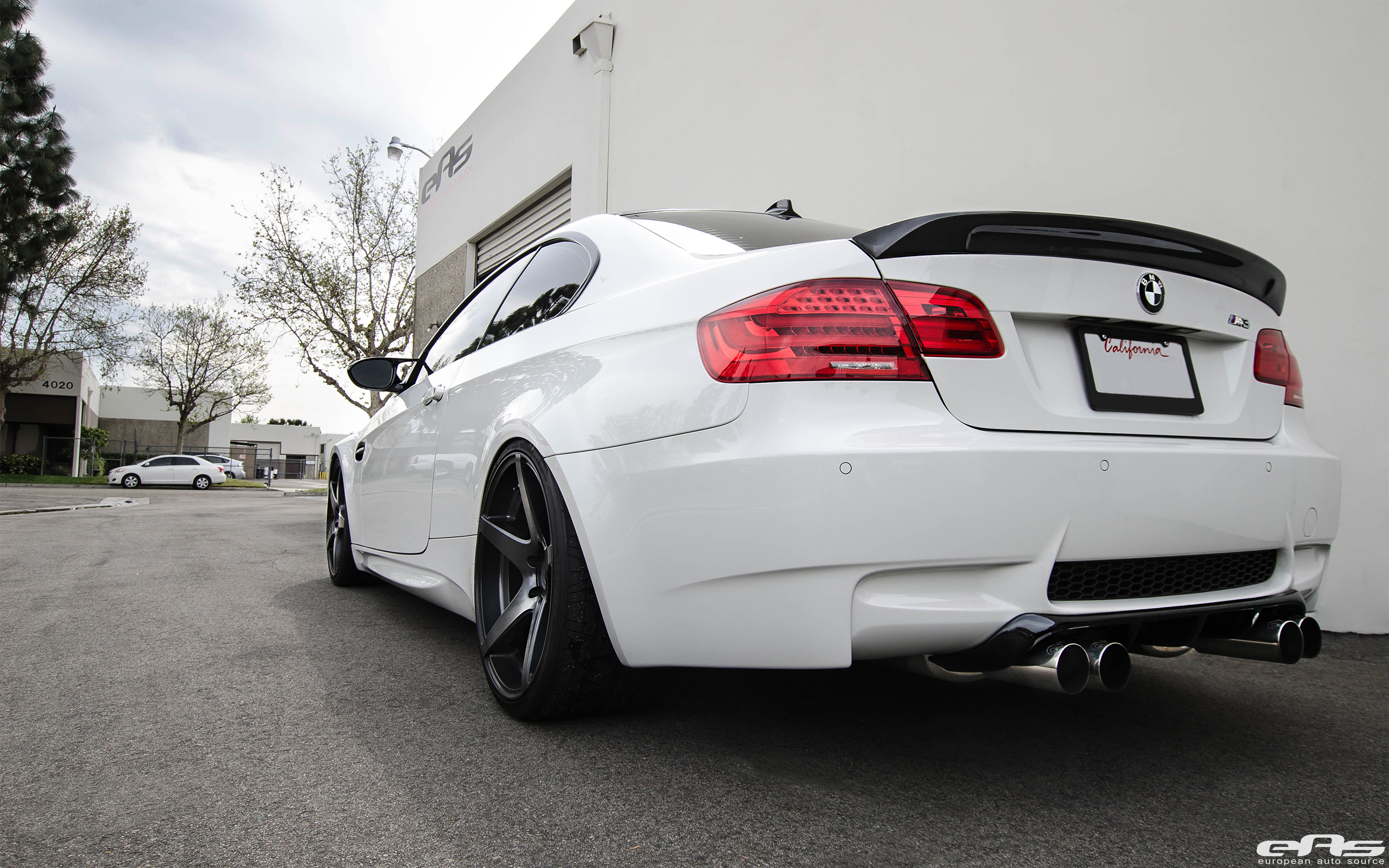 Alpine White BMW E92 M3 Upgraded With New Wheels 7