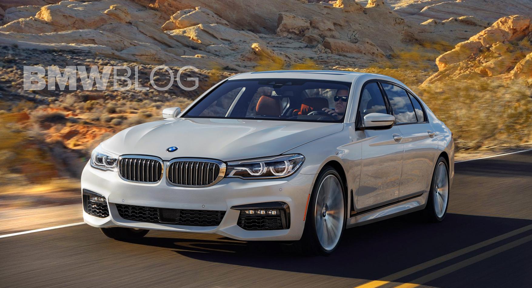 BMW G30 5 series rendering