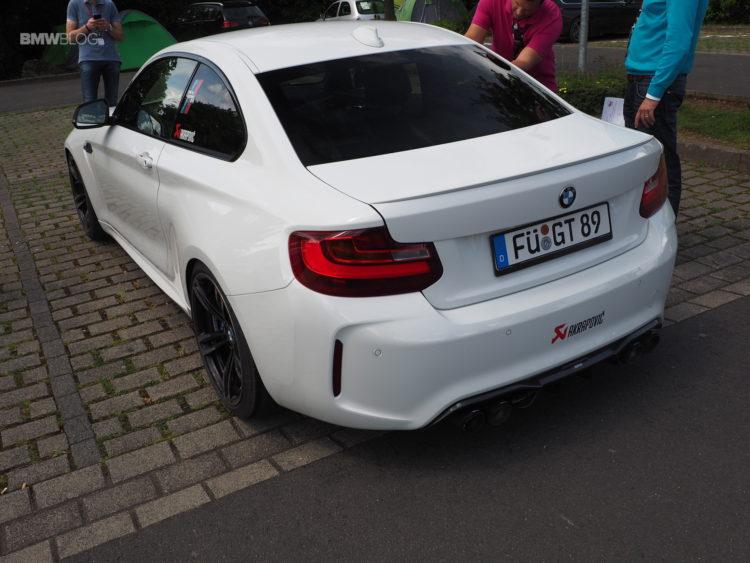 BMW M2 Akrapovic exhaust 1 750x563