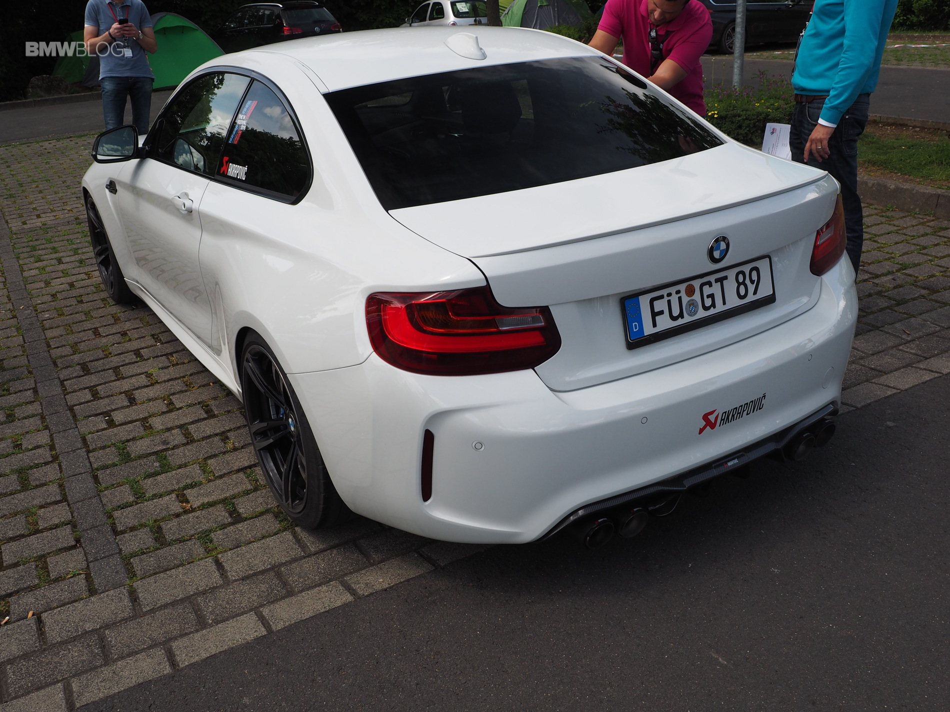 BMW M2 Akrapovic exhaust 1