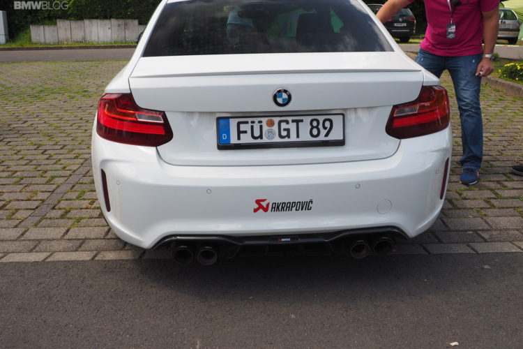 BMW M2 Akrapovic exhaust 2 750x500
