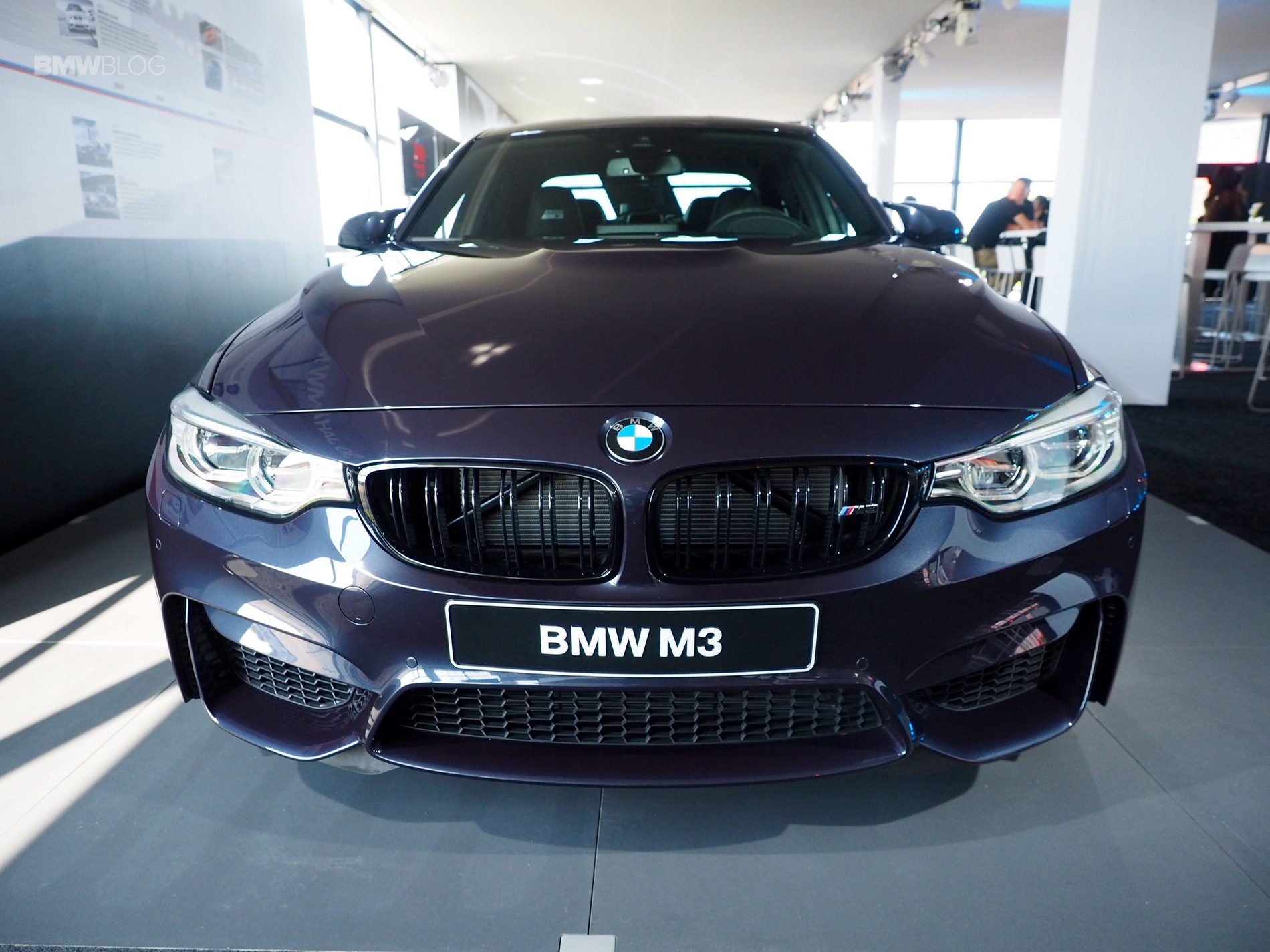 "BMW M3 ""30 Years M3"" live from M Festival at Nurburgring"