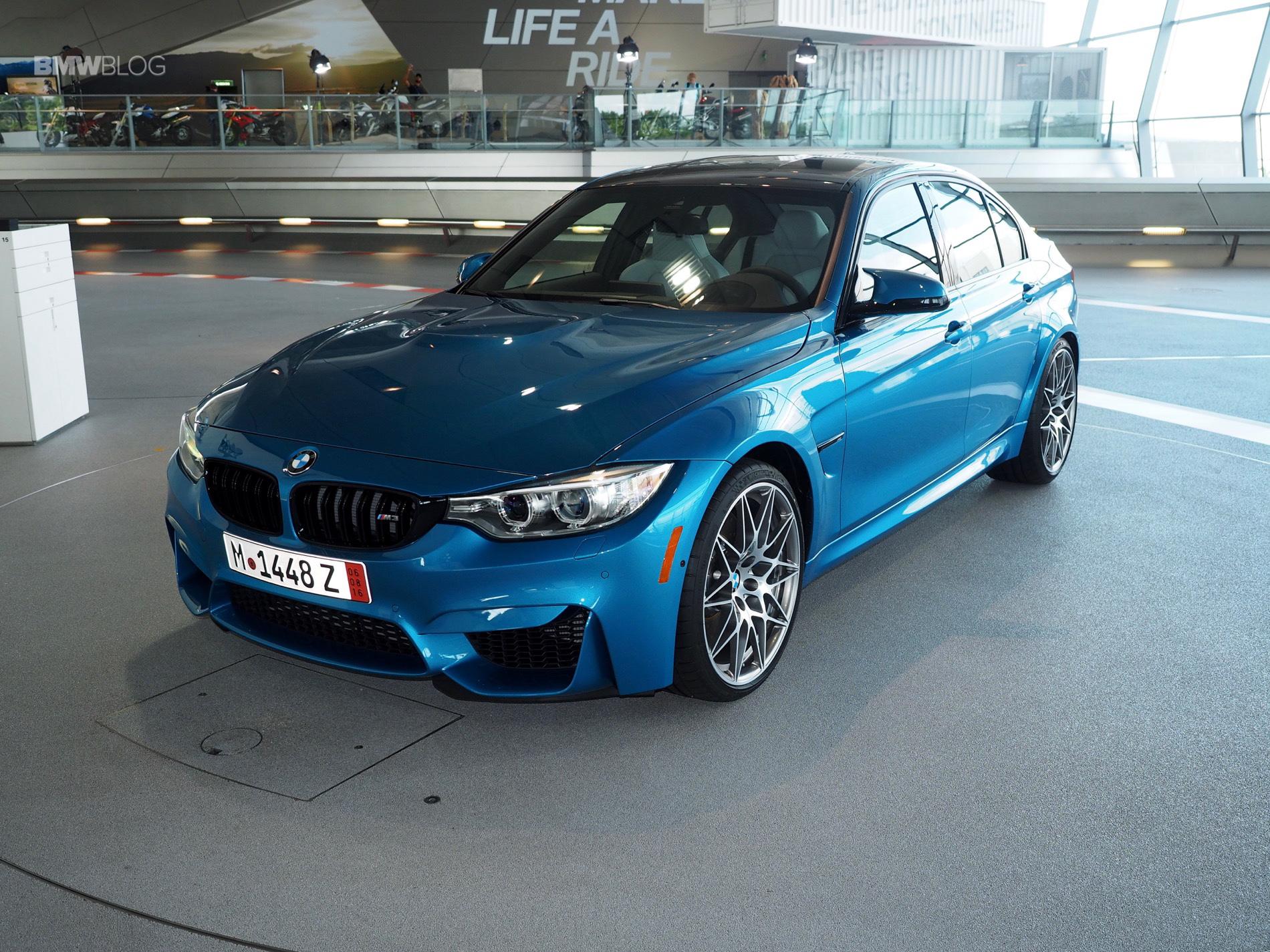 BMW M3 Long Beach Blue 7