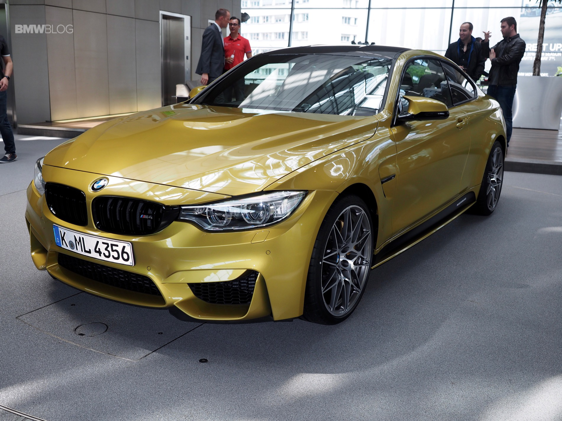 Bmw M4 Competition Package Gets M Performance Parts As Well