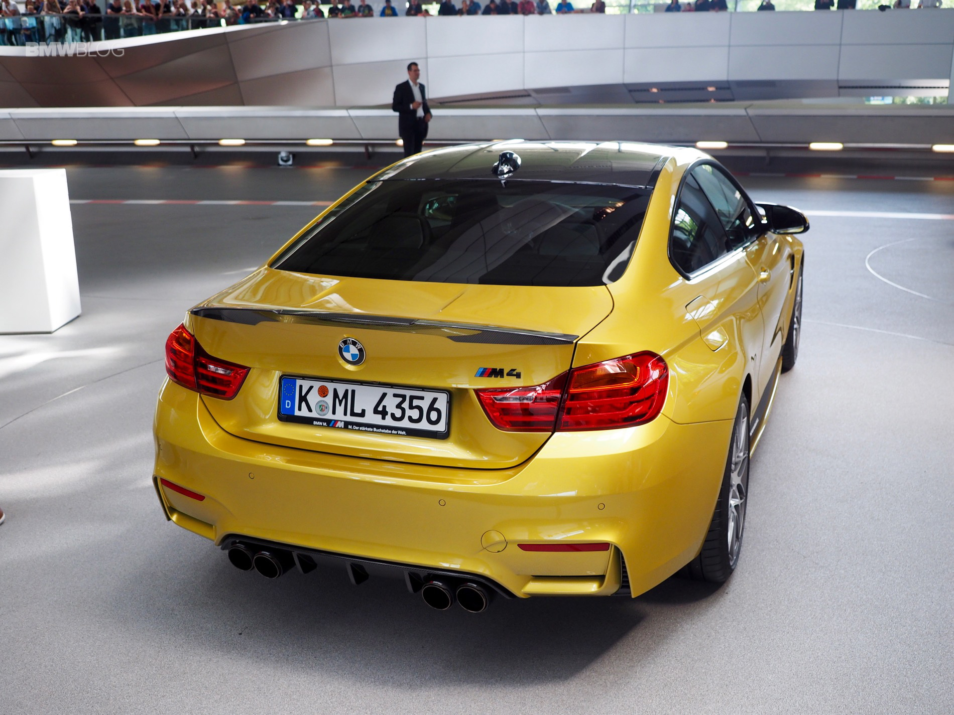 BMW M4 Competition Package Austin Yellow 5