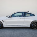 BMW M4 With Akrapovic, Carbon Fiber And Aftermarket Wheels