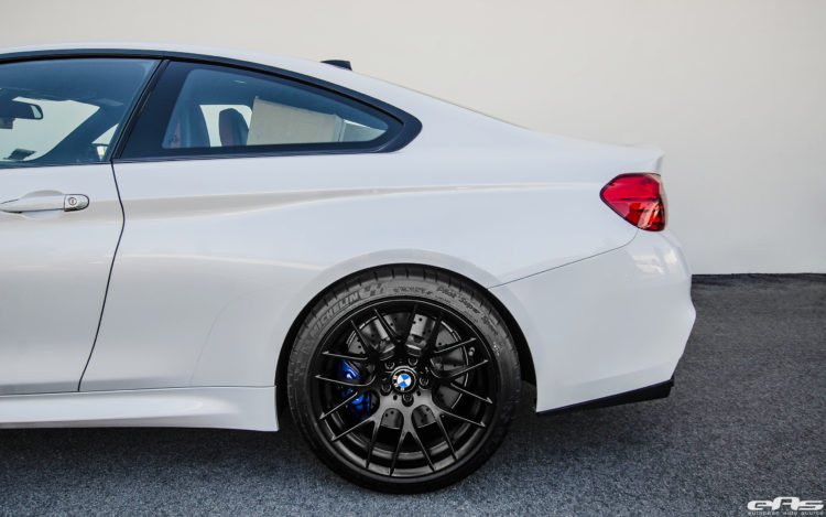 BMW M4 With Akrapovic Carbon Fiber And Aftermarket Wheels 3 750x469