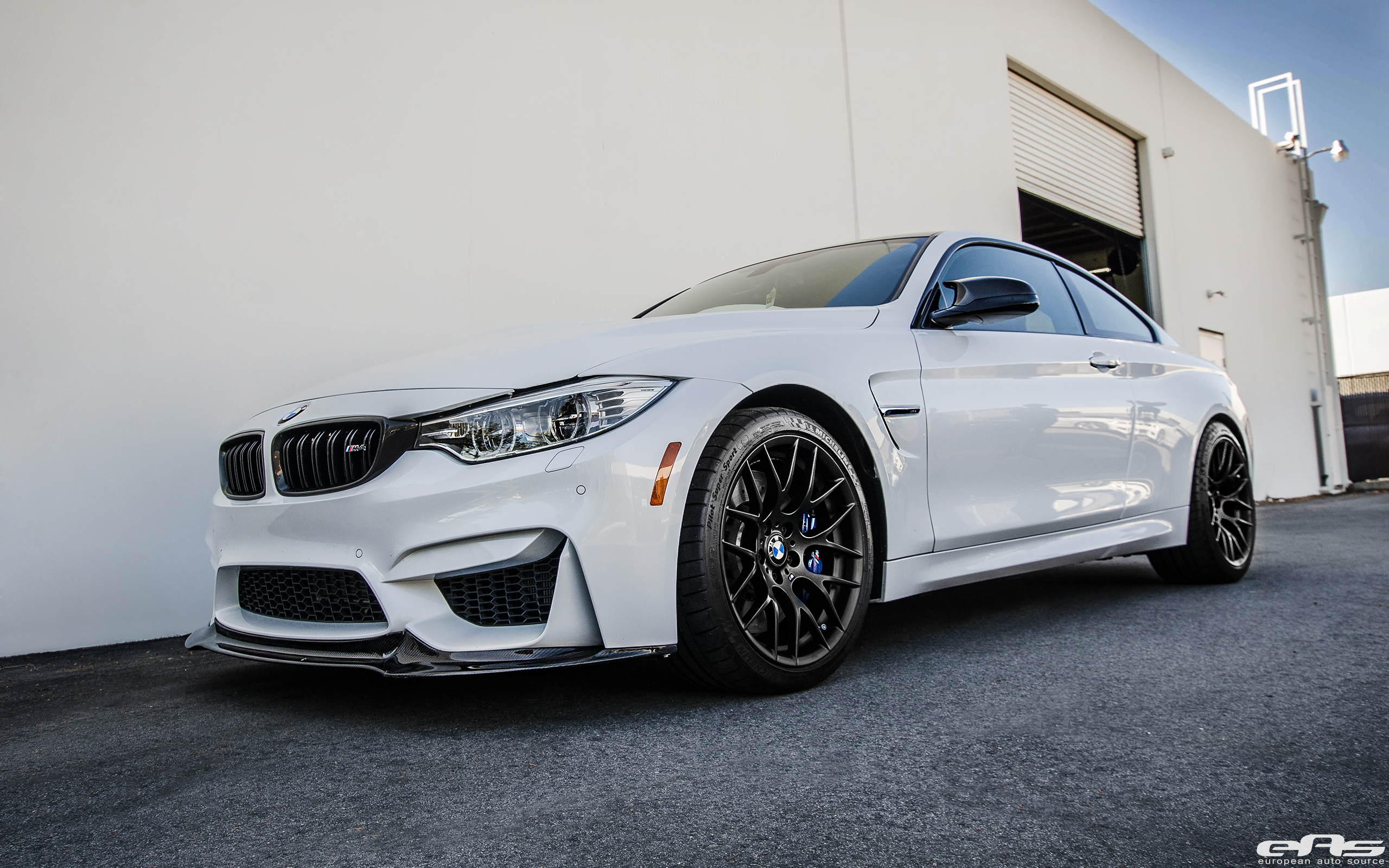 BMW M4 With Akrapovic Carbon Fiber And Aftermarket Wheels 5