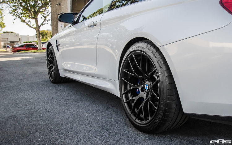BMW M4 With Akrapovic Carbon Fiber And Aftermarket Wheels 8 750x469