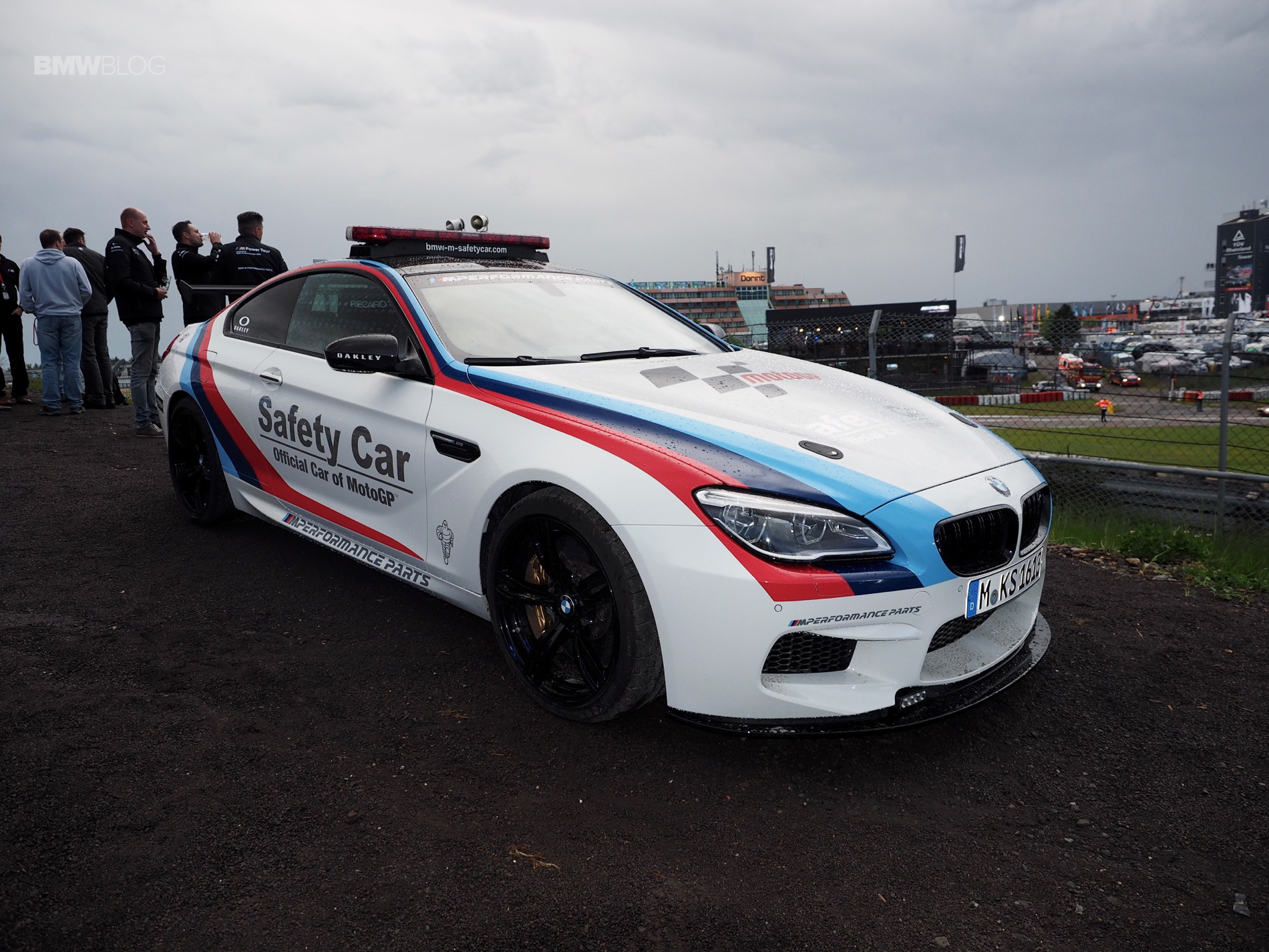 BMW M6 Safety Car 1