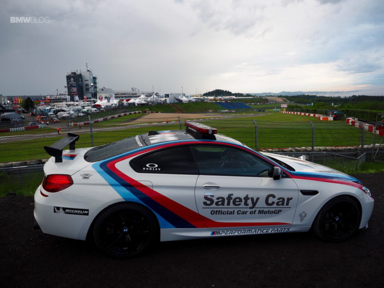 BMW M6 Safety Car 5 750x563