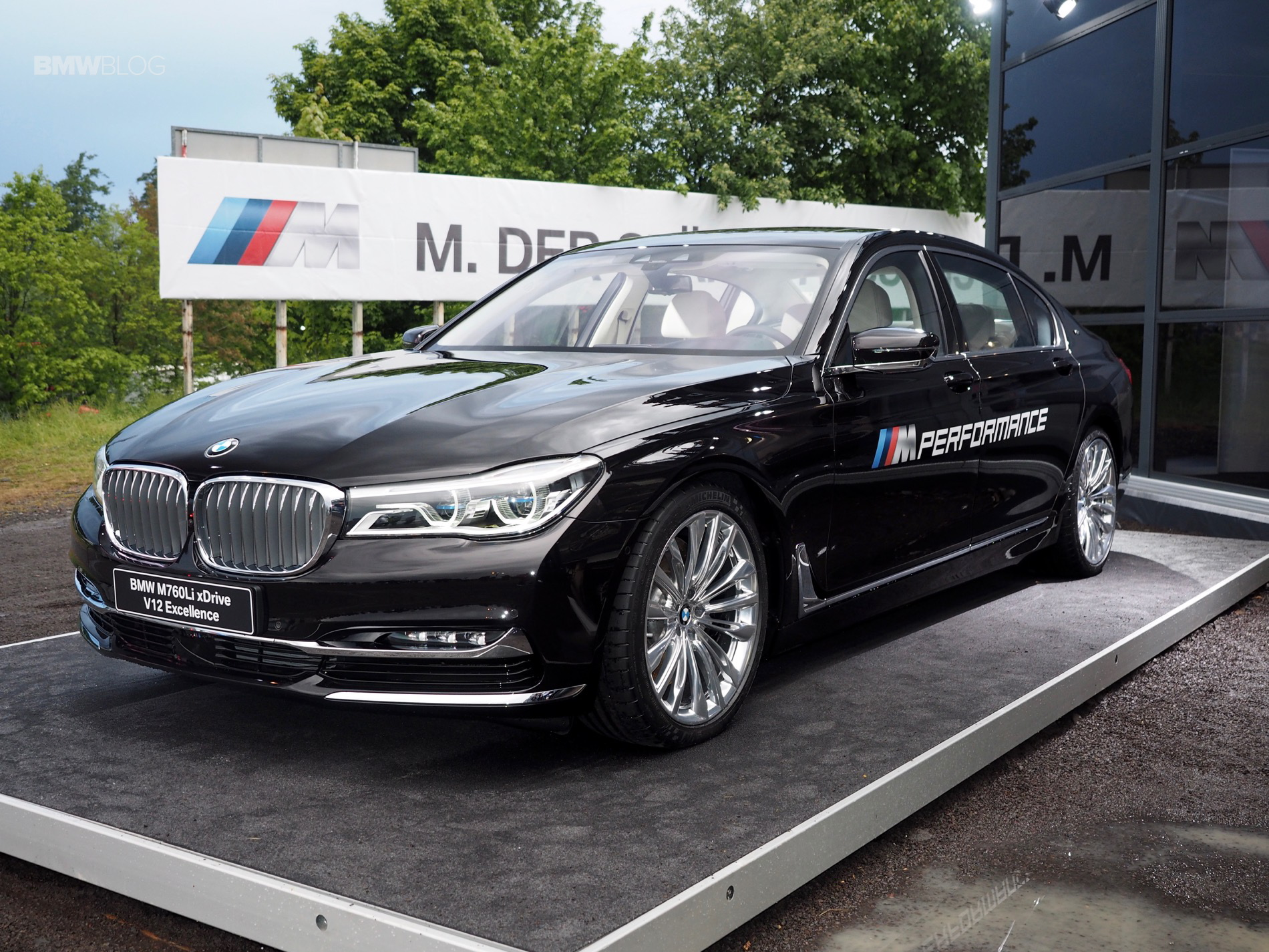 Bmw M760li Xdrive Displayed At M Festival