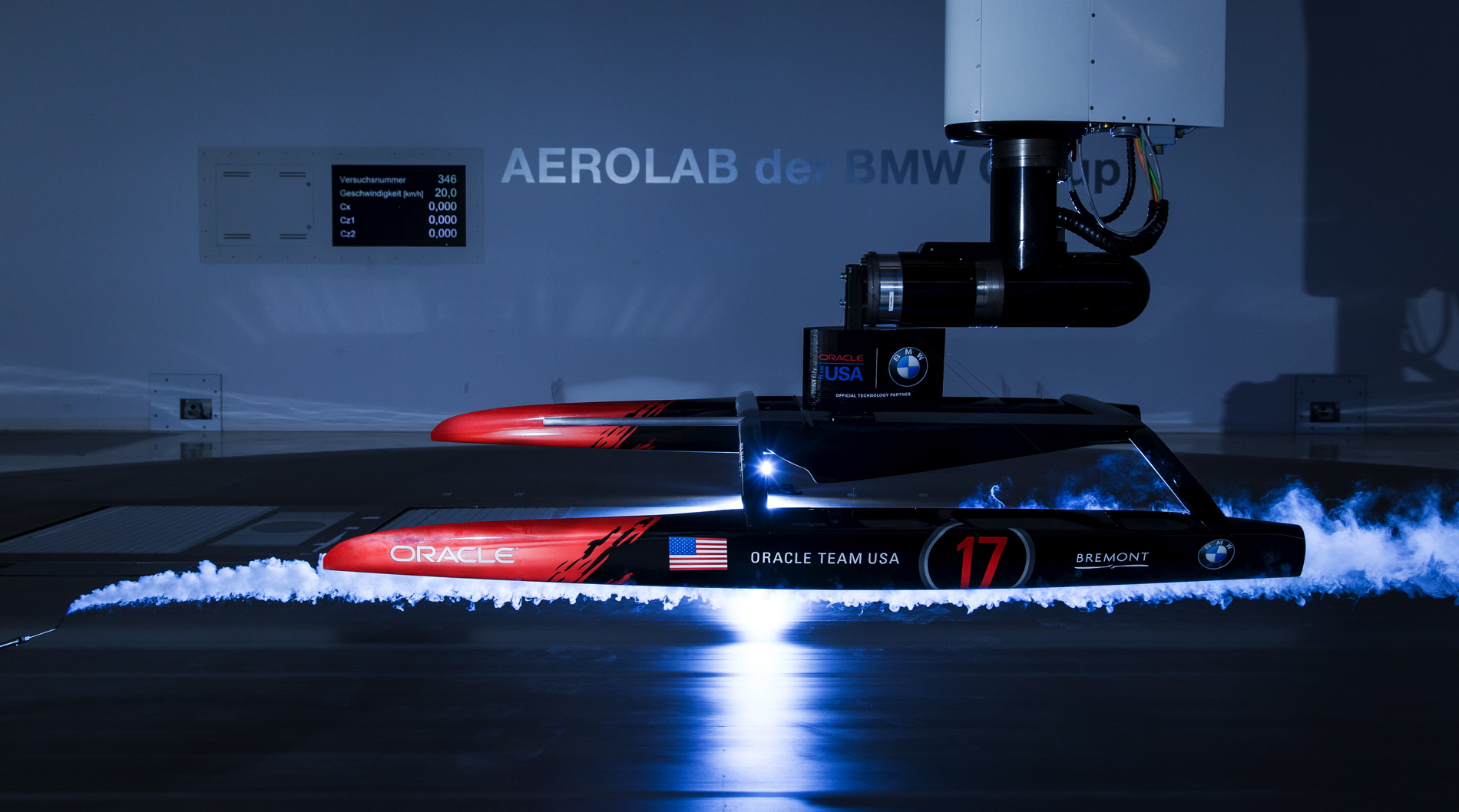 BMW Oracle Racing yacht 28