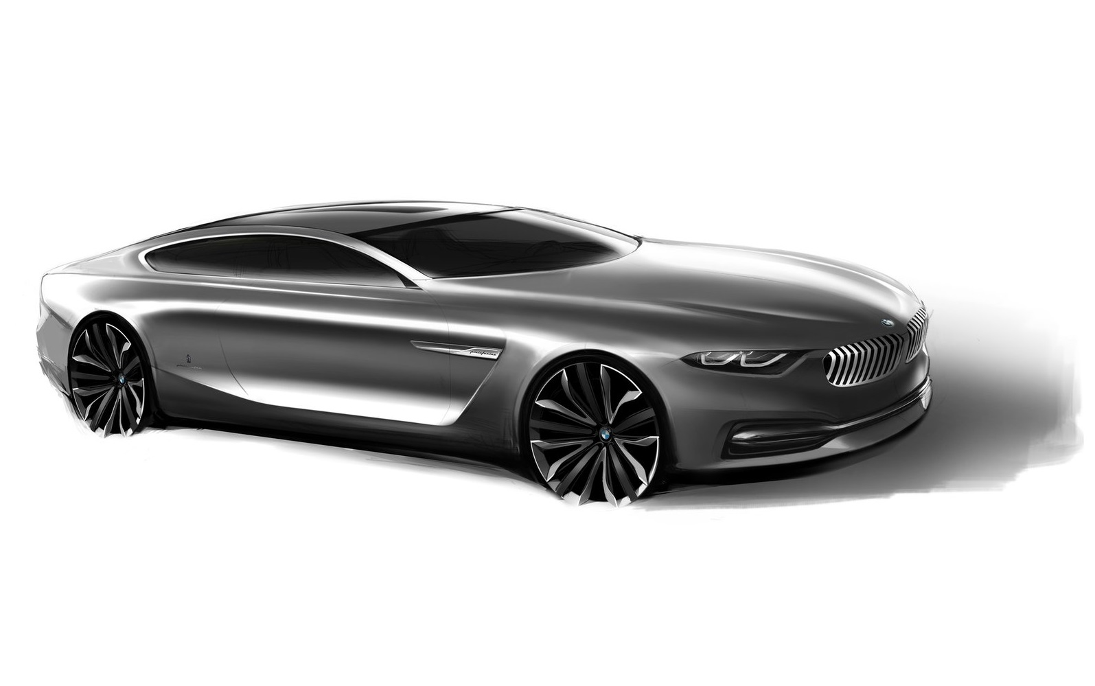 BMW Pininfarina Gran Lusso Coupe 2013 1600 1d