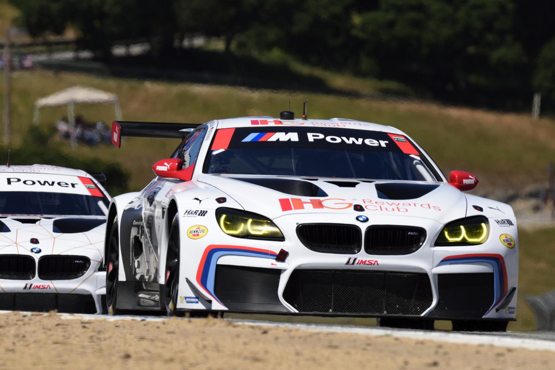 BMW RLL GTLM Laguna Seca 1