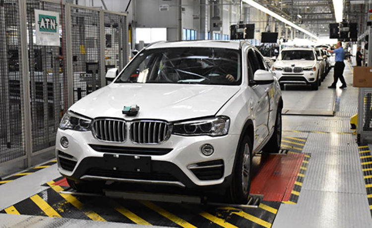 BMW Spartanburg 35millionth 750x461