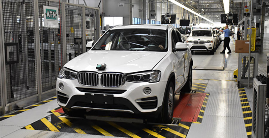 BMW Spartanburg 35millionth