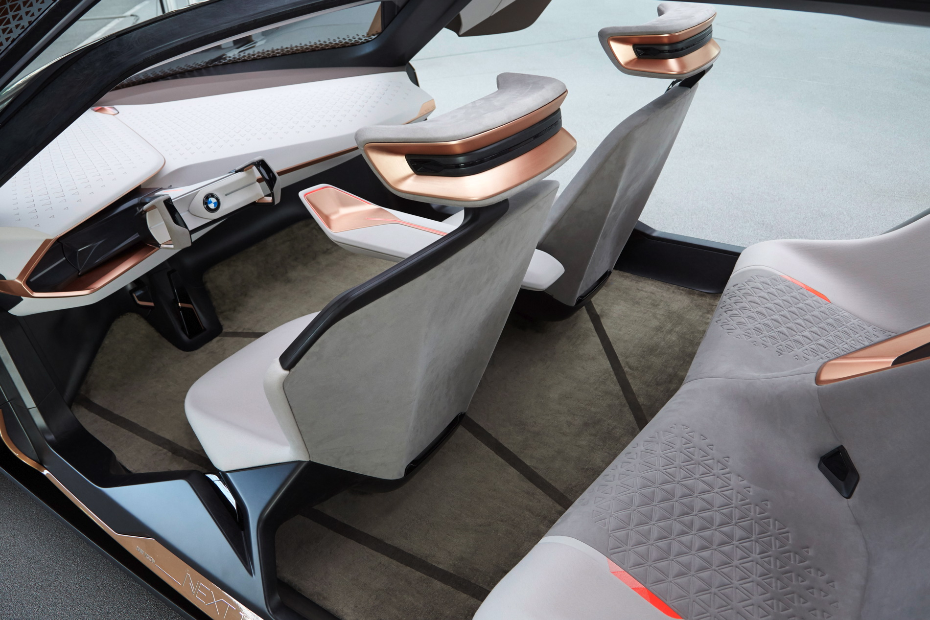 Bmw Designed Vision Next 100 From The Interior Out