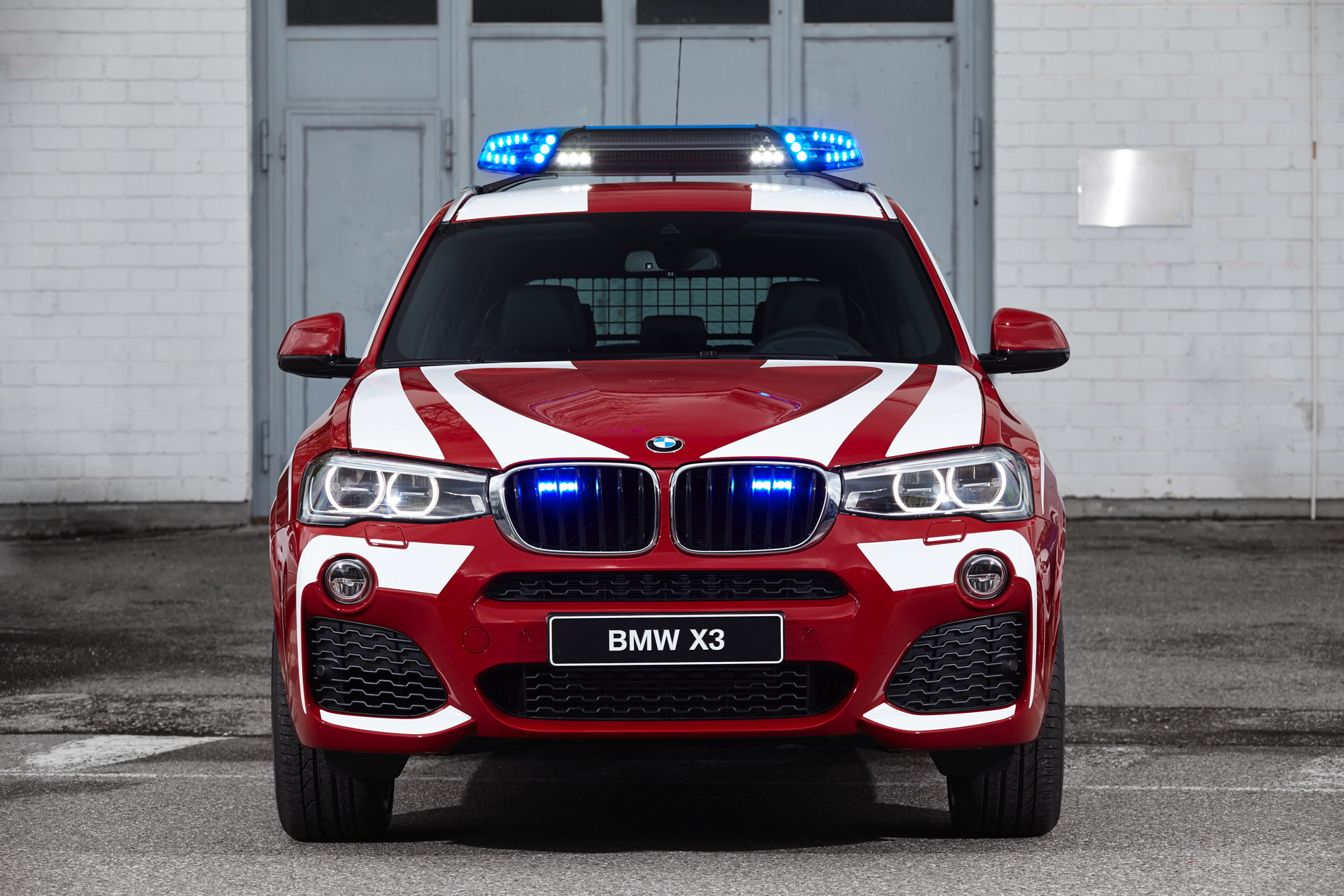 BMW emergency and special safety vehicles at RETTmobil 2016