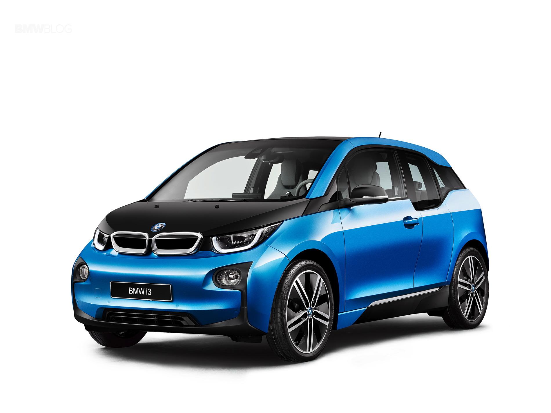 WORLD PREMIERE: 2017 BMW i3 debuts higher-density battery