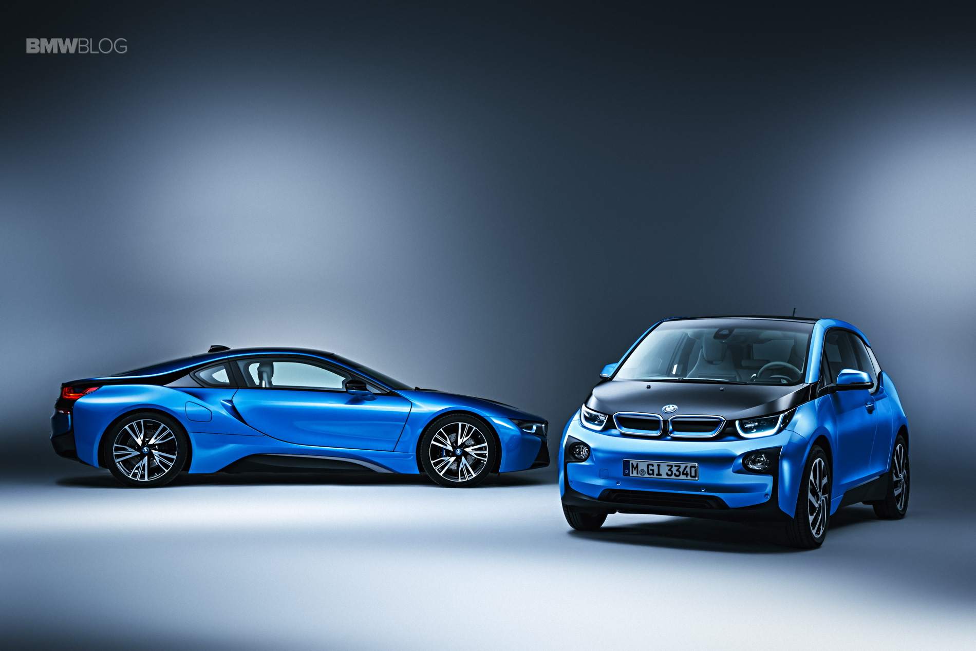 BMW i3 Protonic Blue 9