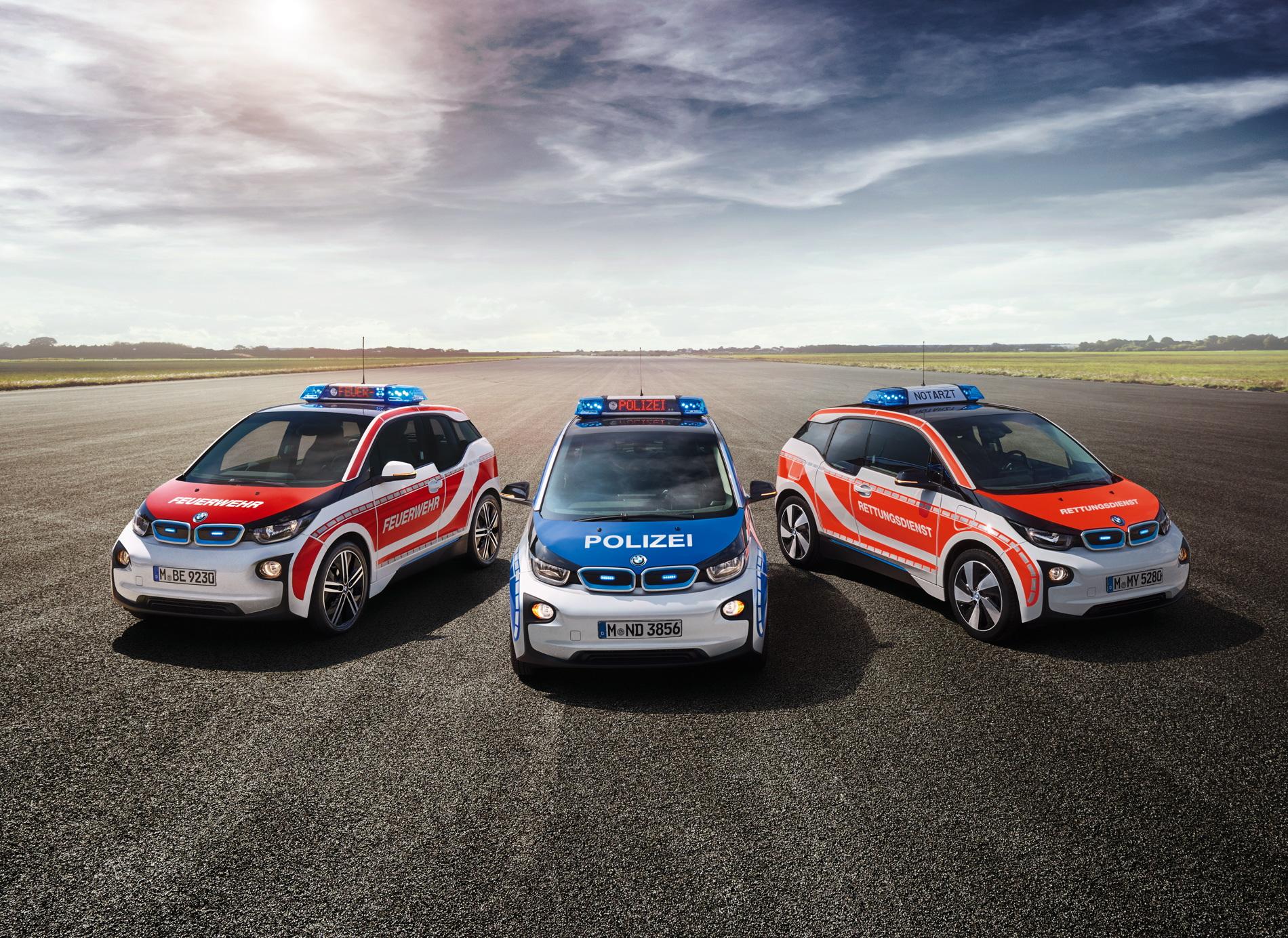 BMW i3 emergency vehicle 1