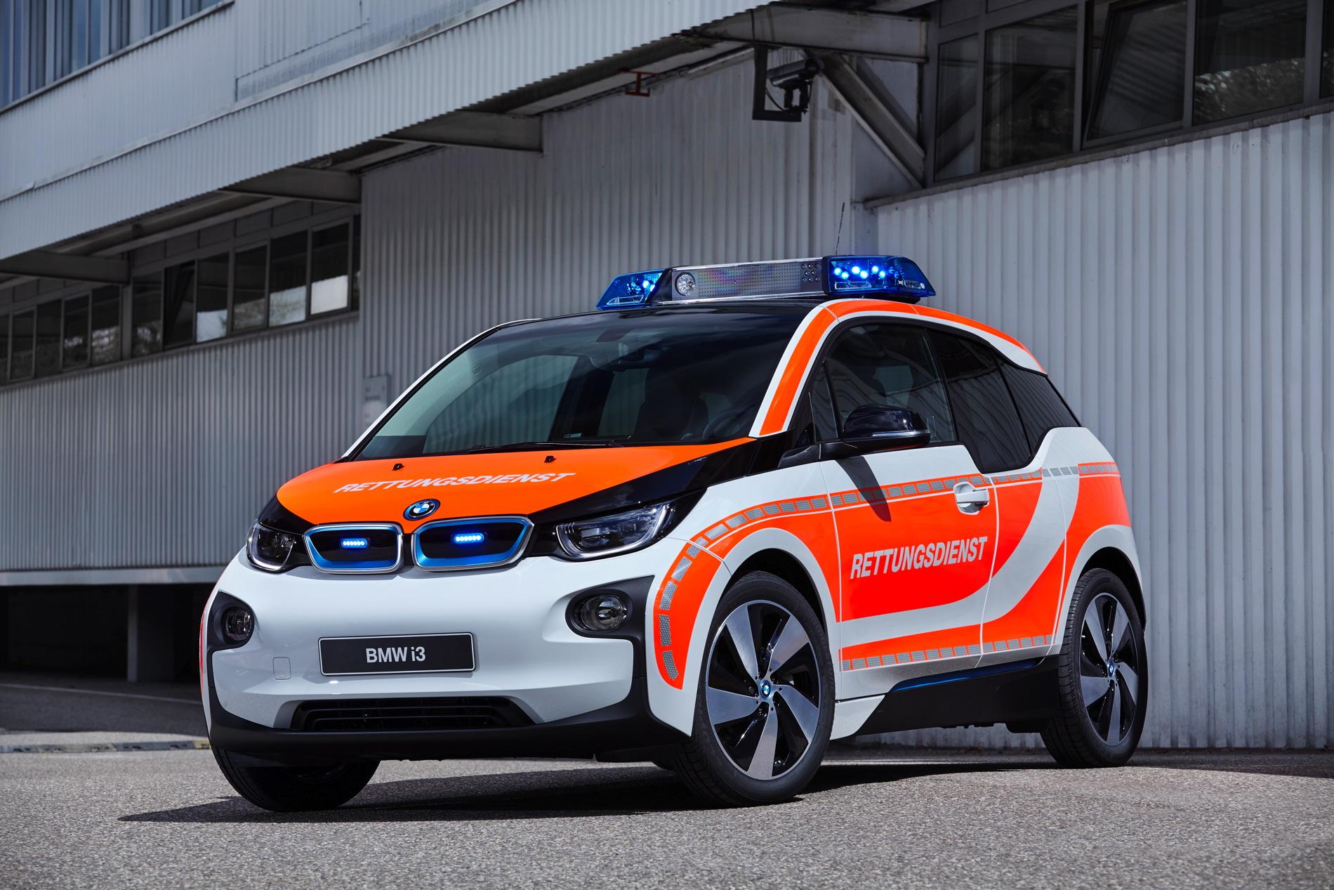 BMW i3 emergency vehicle 2