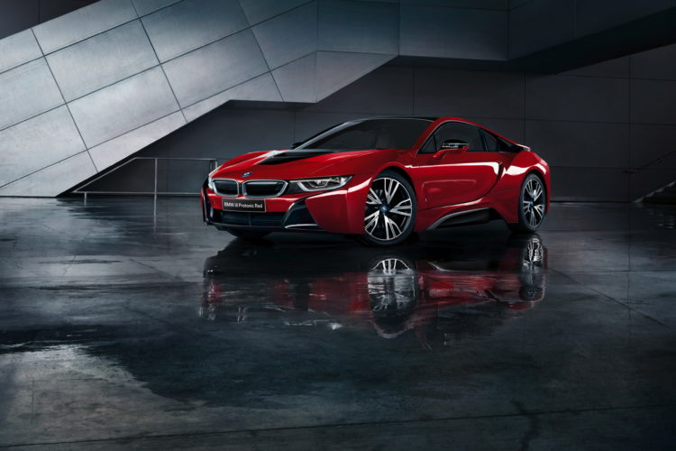 Five Bmw I8 Protonic Red Edition Models Reserved For Australia