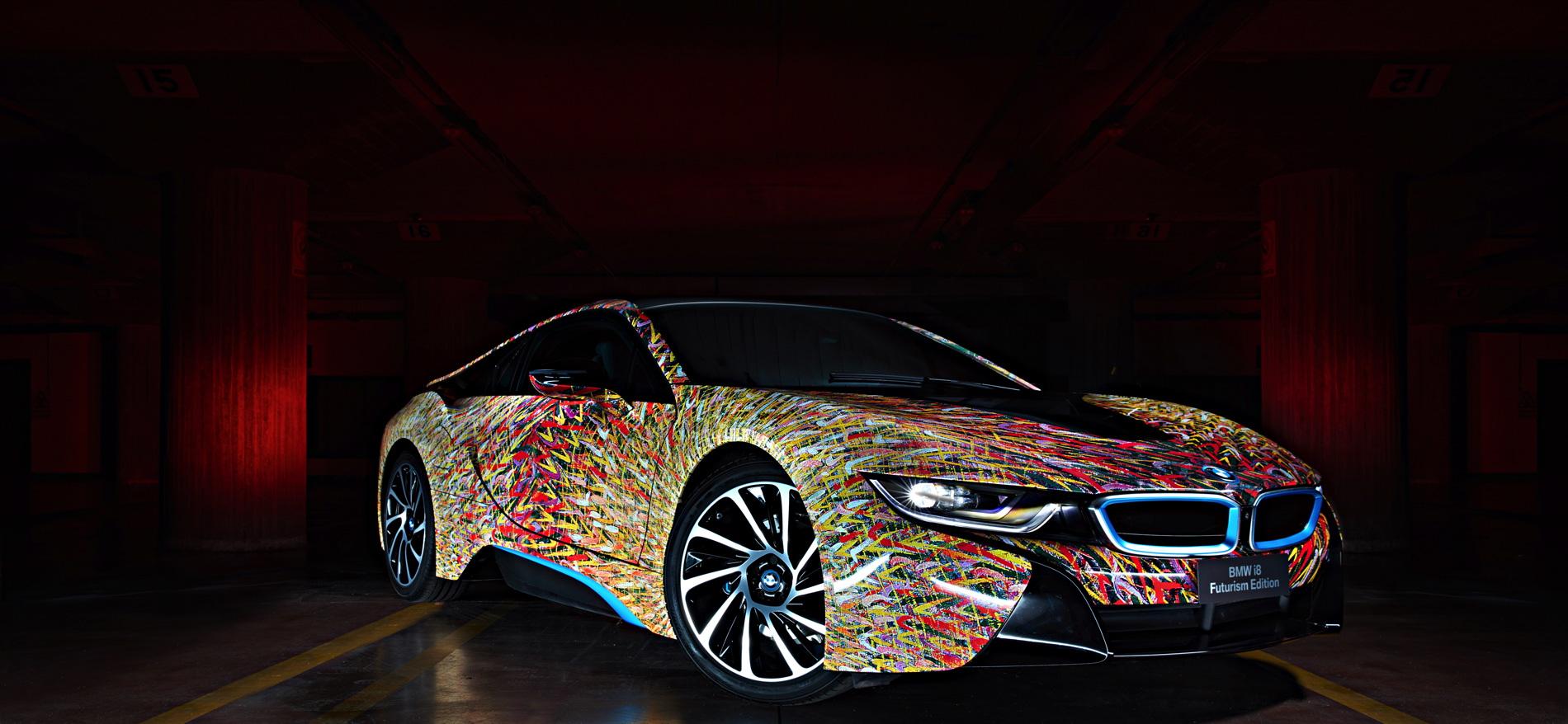BMW i8 Futurism Edition 7