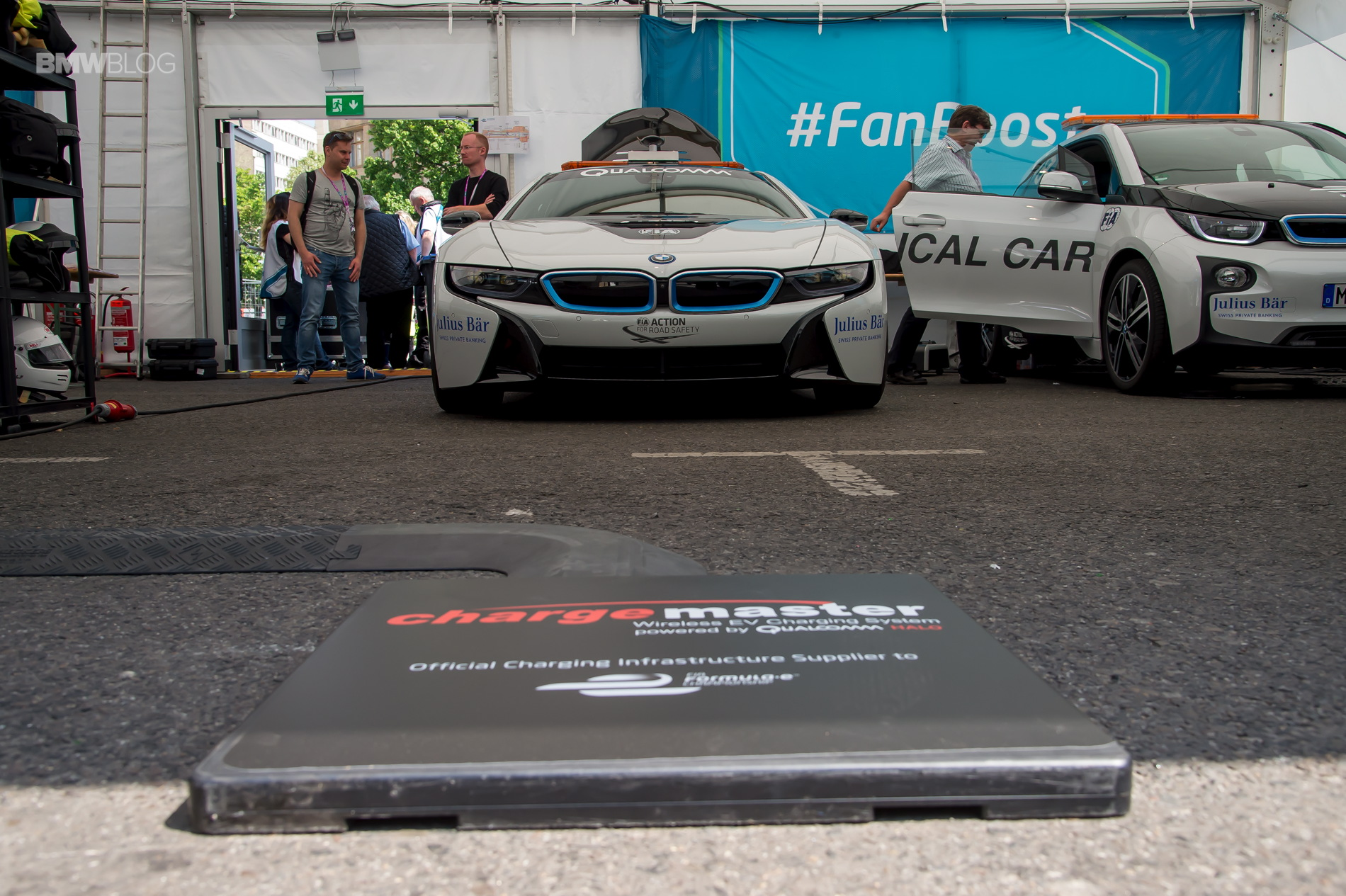 BMW i8 Safety Car test drive 14